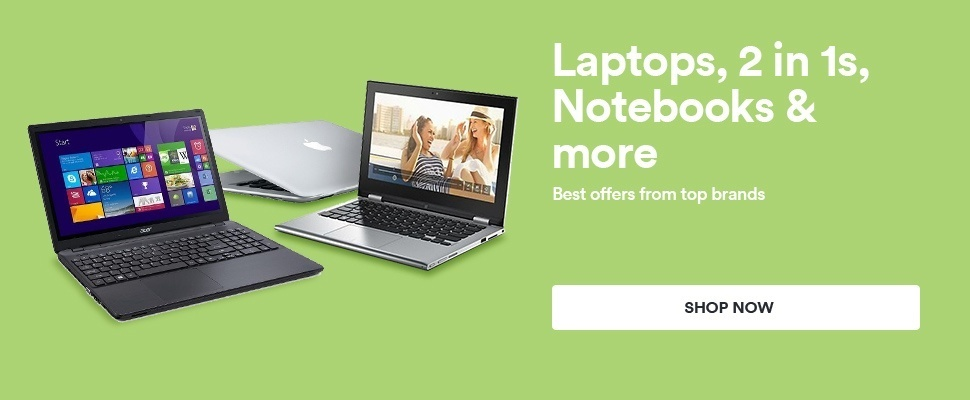 Laptops | 2 in 1s | Notebooks & more