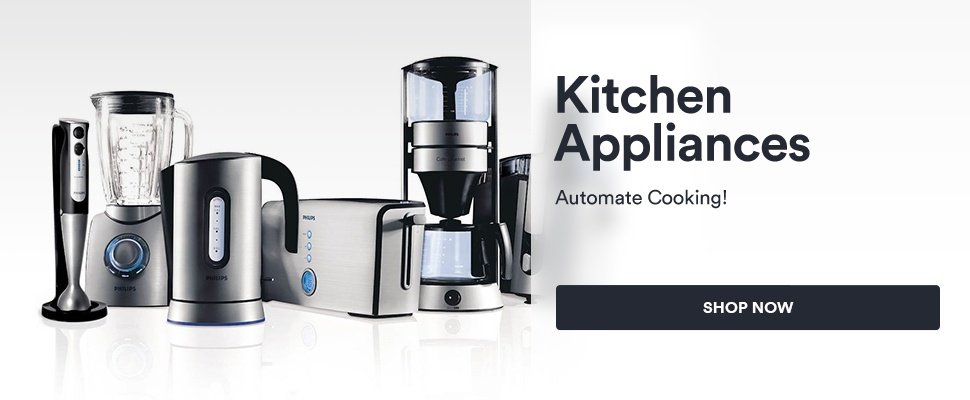 Kitchen Appliances - Automate Cooking!