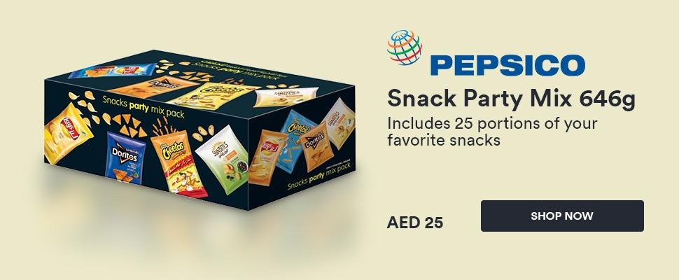 Pepsico snack party mix