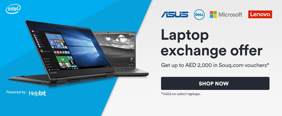 Laptop exchange offer | *Valid on selected laptops