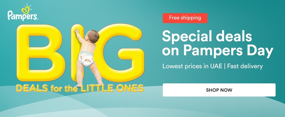 Pampers Day Deals. Today Only!