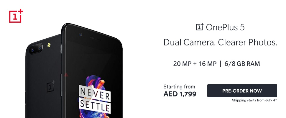 Exclusive Launch: OnePlus 5