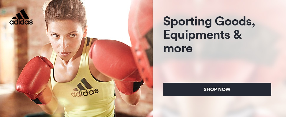 Adidas: Sporting Goods, Equipments & more