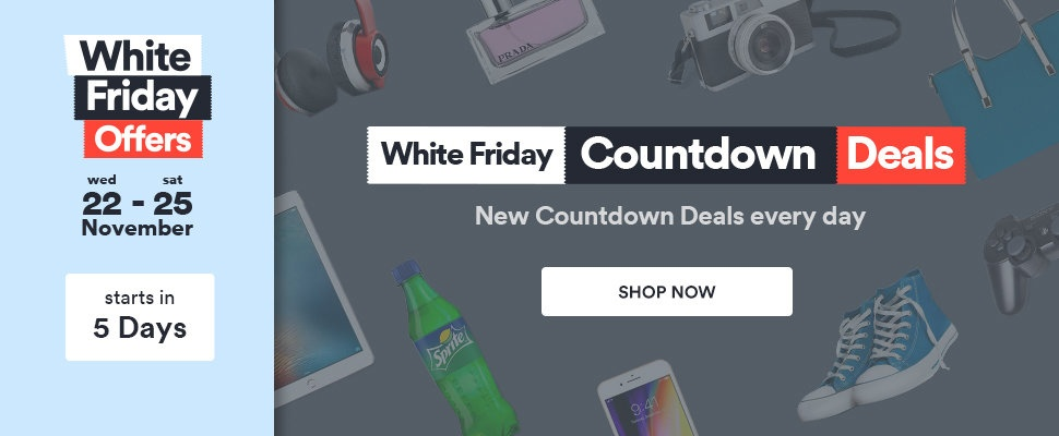 White Friday Countdown Sale