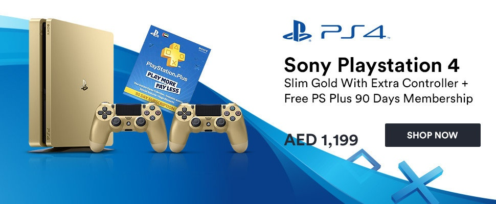 Playstation Day:  Get the New PS4 Gold!