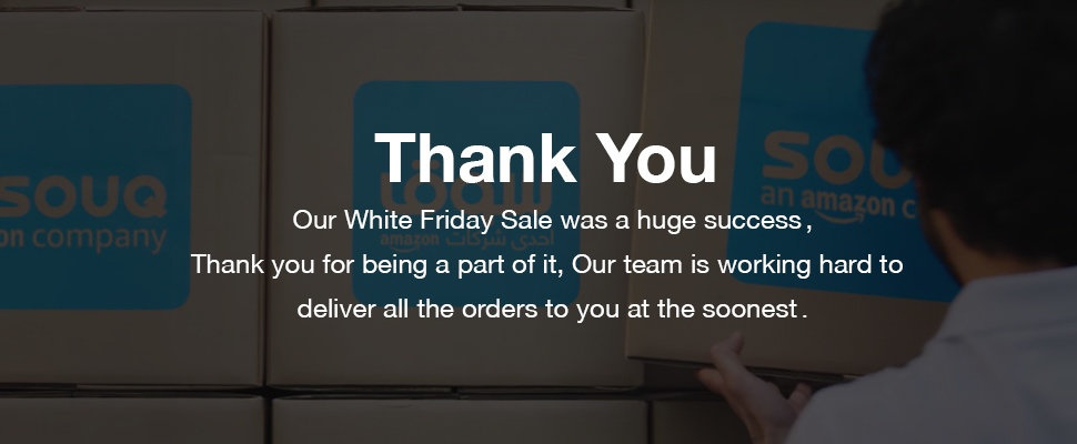 Successful white Friday