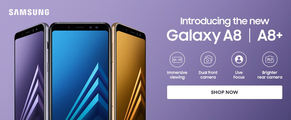 New Launch | Samsung A8