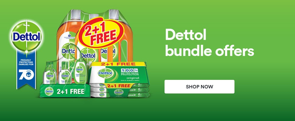 Dettol 70th Anniversary Bundle Offers