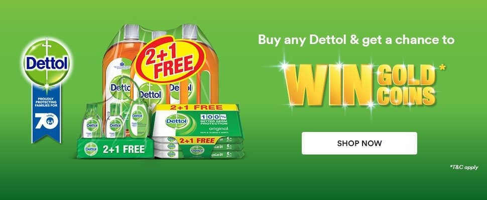 Dettol 70th Anniversary Gold Coin Offer