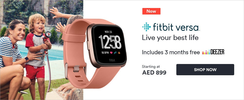 Fitbit Versa:  An all-day smartwatch