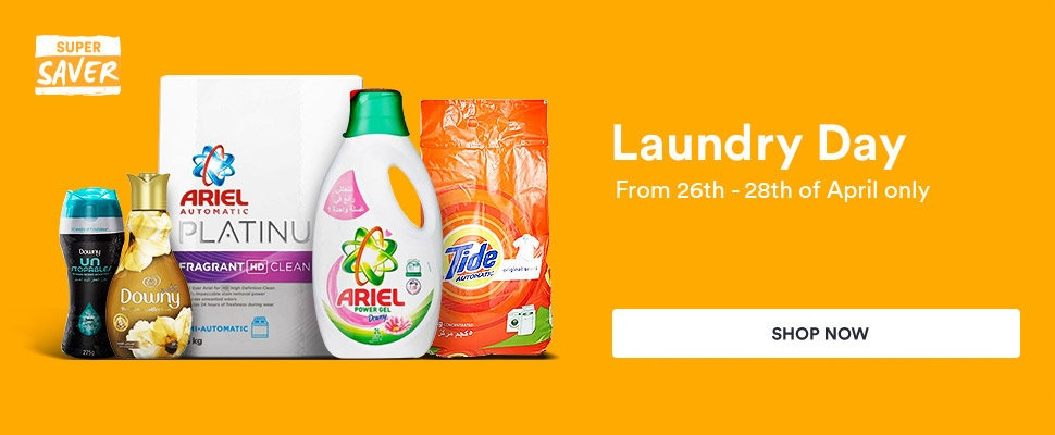 Save big on your laundry essentials