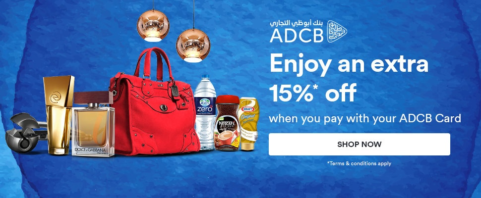 Eid Al Fitr Special15% discount using your ADCB Card