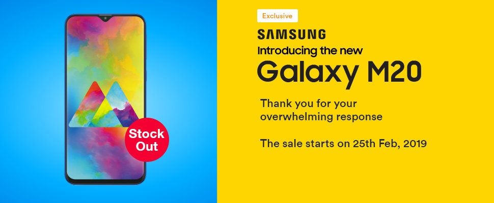 Exclusive on SOUQ| Galaxy M20