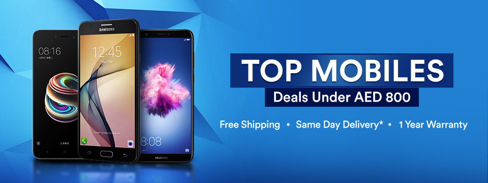 Top Mobiles | Deals Under AED 800