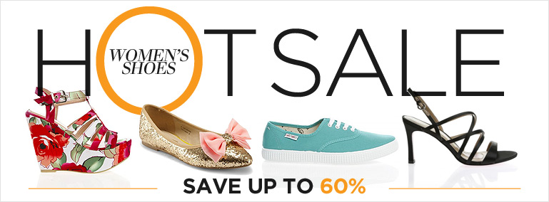 HOT Shoes and Bags Sale. Women's Shoes. Save up to 60%