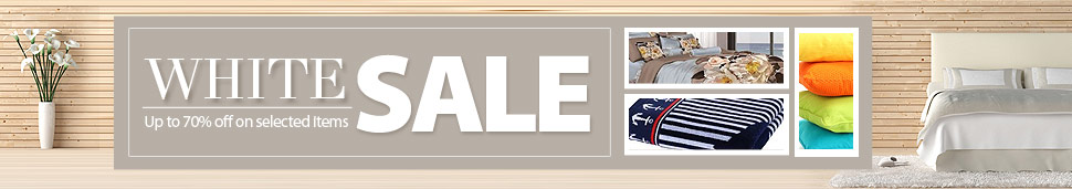 White Sale Up to 70% on selected items
