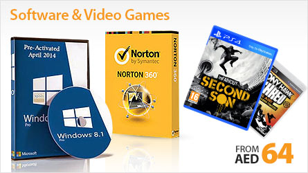Softwares and video games from aed 64
