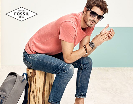 Fossil | Casual & classic watches | Up to 60 % off