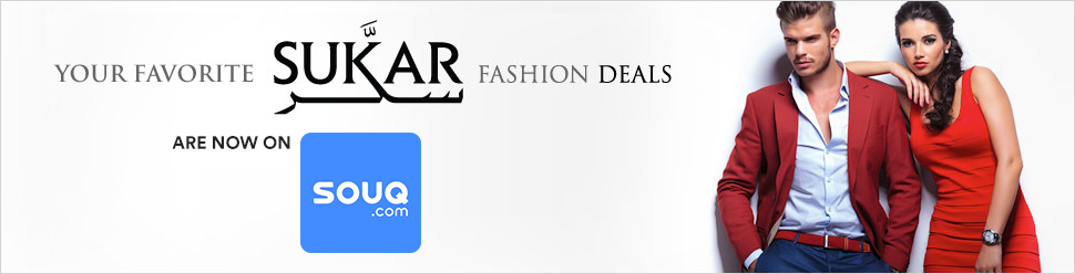 Your Favorite Sukar Fashion Deals are now on Souq.com
