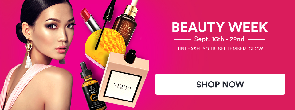 BEAUTY WEEK - Unleash your september glow