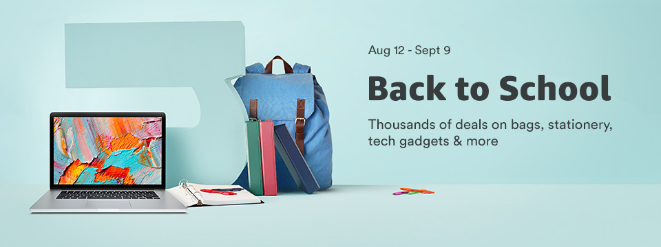 Aug 12 - Sept 09 Back to school