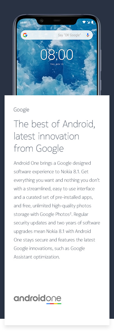 The best of Android, latest innovation from Google
