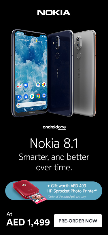 Nokia 8.1 Smarter, and better over time.