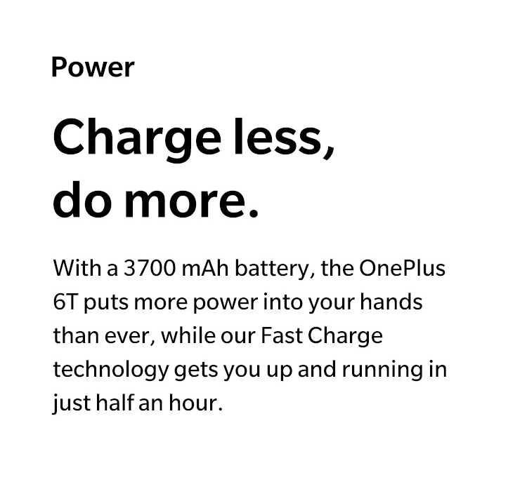 Charge less, do more