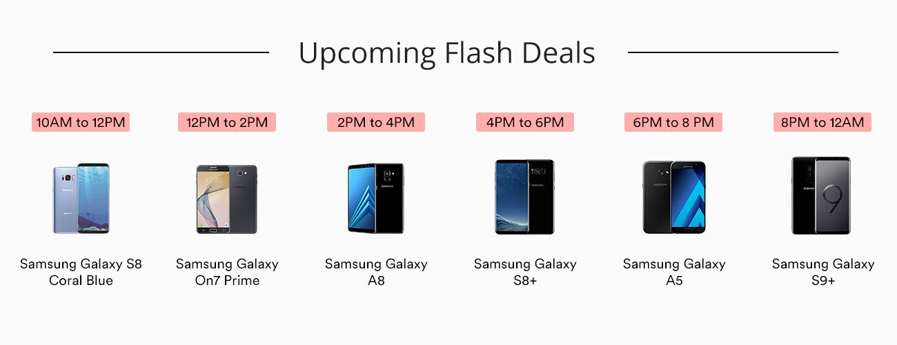 Samsung Flash Deals