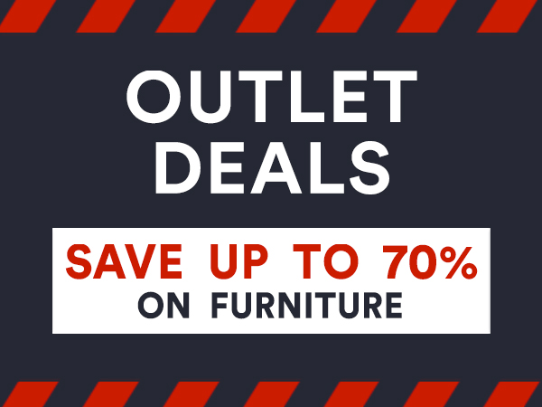 outlet deals Save up to 70% on Furniture