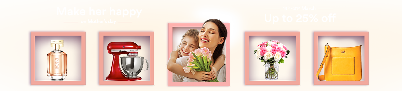 Make her happy on Mother's day