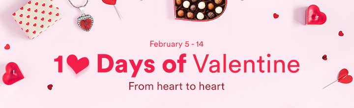 10 days of valentine