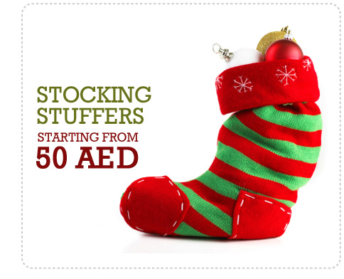 Stocking Stuffers starting from 50 AED