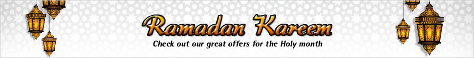 Ramadan Kareem - Check out our great offers for the Holy month
