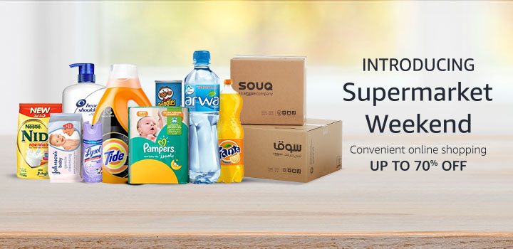 Introducing Supermarket Weekend Convenient online shopping up to 70% off
