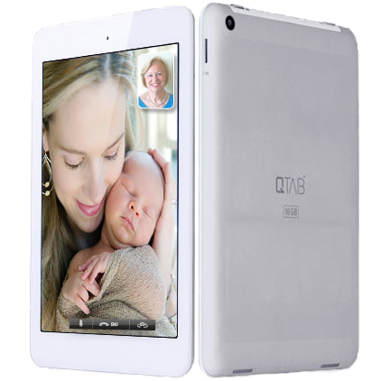 QTAB Tablet (16GB, 8 Inch, Quad Core, Android 4.2.2, 1GB ...