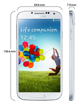 Overview of Samsung GALAXY S4 (GT-I9500) White