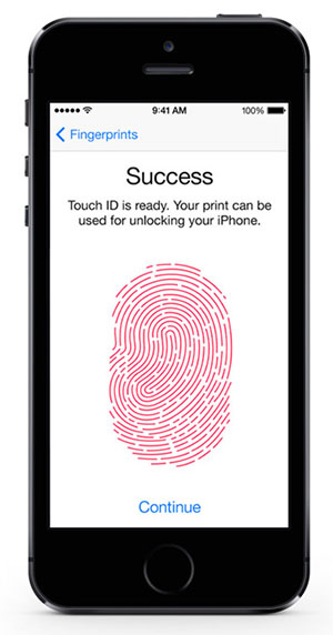 Touch ID.Your phone. Your identity.