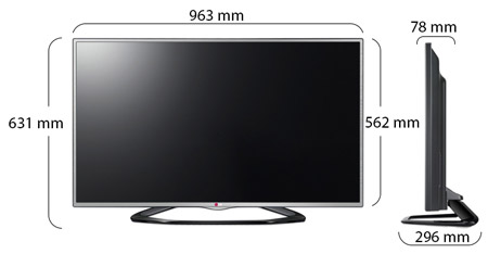 Lg 42 Inch Full Hd 3d Led Tv 42la6130 Online At Best Price