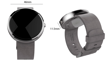 ac8e6d98000 Motorola Moto 360 Smart Watch for Android Devices