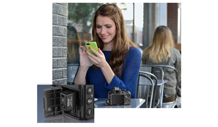 Share Photos with Compatible Smartphone or Tablet
