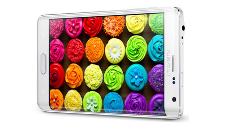 Top of the Line Quad HD Screen