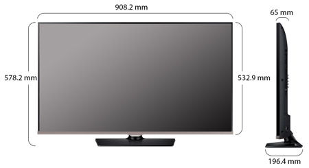 samsung 40 inch full hd led tv 40h5100 souq uae. Black Bedroom Furniture Sets. Home Design Ideas