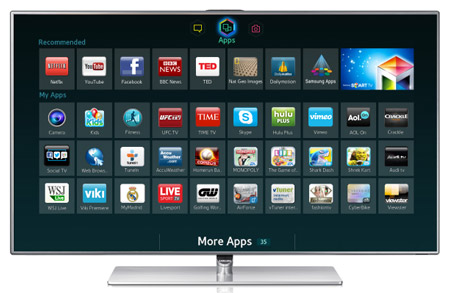 Samsung 40'' Full HD 3D Smart LED TV 40F7500
