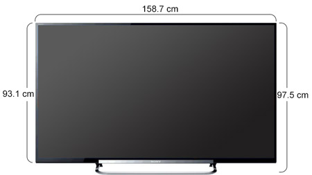 souq sony 70 inch full hd 3d internet led tv kdl. Black Bedroom Furniture Sets. Home Design Ideas