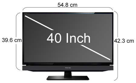 toshiba 40 inch full hd led tv 40pb200 souq uae. Black Bedroom Furniture Sets. Home Design Ideas