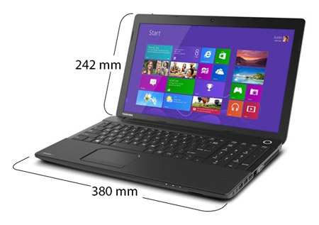 souq toshiba satellite c50 a283 laptop intel celeron dual core