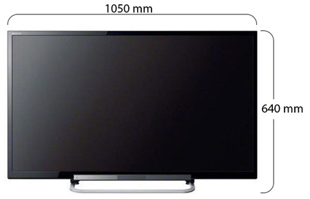sony bravia 46 inch full hd led tv 46r472 online at best price in united arab emirates. Black Bedroom Furniture Sets. Home Design Ideas