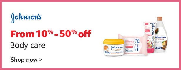 J&J Face & Body - Up to 50% off
