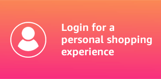 Login for a personal shopping experience